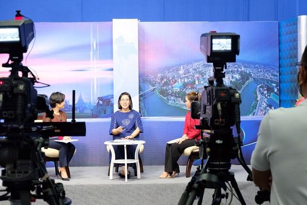 ประกันสังคมจังหวัดพิษณุโลกกับรายการ เช้านี้ที่ภาคเหนือ ทางสถานีวิทยุโทรทัศน์แห่งประเทศไทย NBT ช่อง 11
