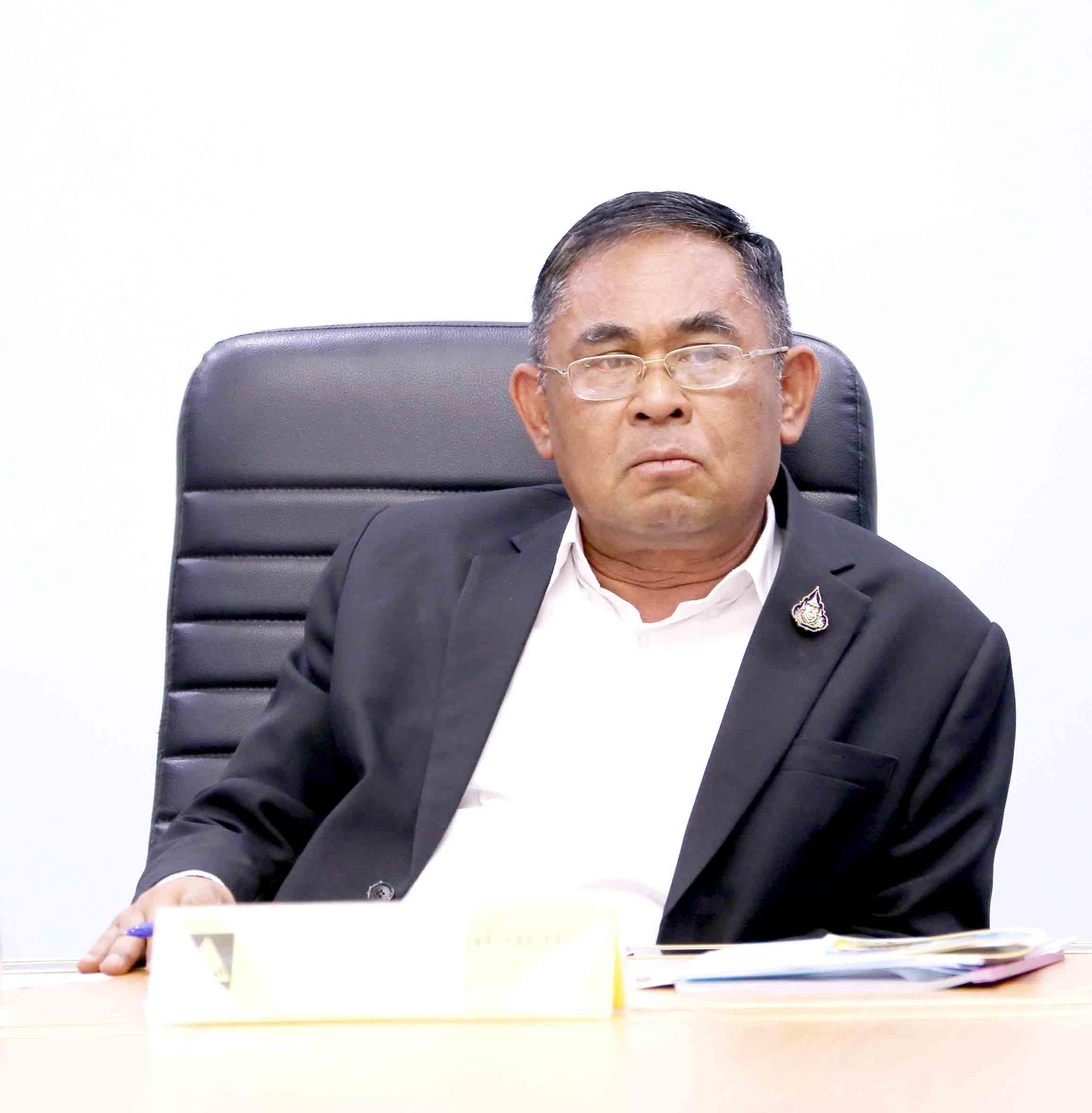 ประชุมหารือ เตรียมความพร้อมการตรวจเยี่ยมของ นายสุชาติ ชมกลิ่น รัฐมนตรีว่าการกระทรวงแรงงาน และ ศาสตราจารย์ ดร.นางนฤมล ภิญโญสินวัฒน์ รัฐมนตรีช่วยว่าการกระทรวงแรงงาน
